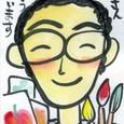 mck-happyさんの絵てがみ ~絵手紙教室にて