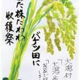 収穫の秋 ~秋田からの絵手紙