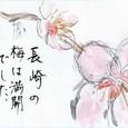 S.Sさんの絵手紙 ~梅
