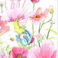 徳永洋一さんの絵手紙 ~花の妖精